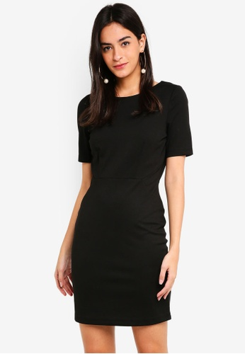 Vero Moda black Mynte Short Dress 76ED3AAAF337B7GS_1