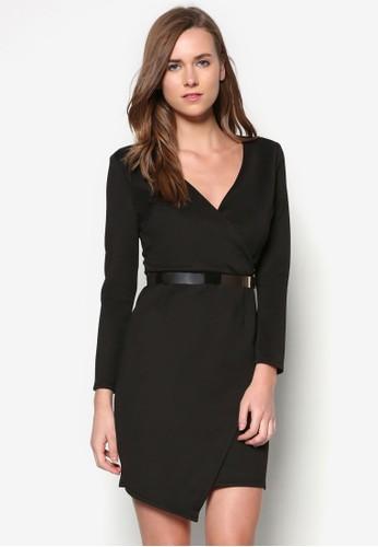 經典裹飾腰帶zalora 衣服評價連身裙, 服飾, 洋裝