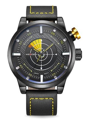 Weide yellow WH5201-4C Analog Watch WE088AC84KVVPH_1