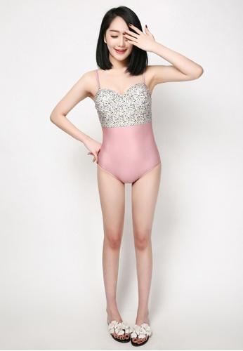 hk-ehunter multi Women's Printed Swimsuit BEDB5US800CB0FGS_1