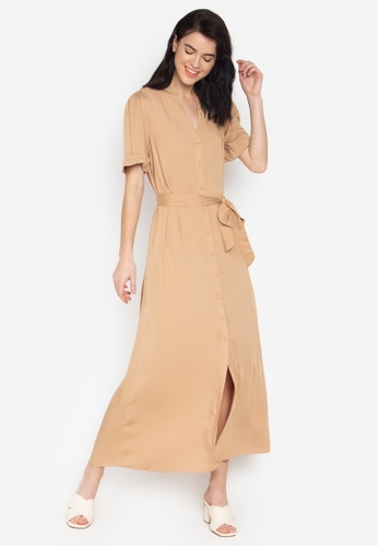 top-rated professional new lower prices best sale Venice Button Down Maxi Dress