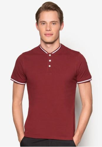 條紋領亨利POLO 衫, 服esprit品牌介绍飾, 服飾