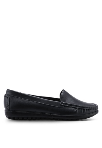 Louis Cuppers 黑色 Round Toe Loafers 2417ESHA42C955GS_1
