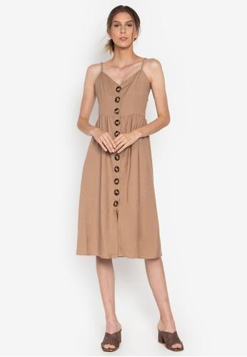 the___edit multi Francine Button Down Midi Dress 821BEAAF1B99D7GS_1