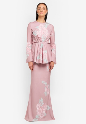 Naya Kurung Modern from NH by NURITA HARITH in Pink
