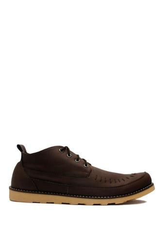 D-Island brown D-Island Shoes Royale Low Boots England Dark Brown DI594SH81VUGID_1