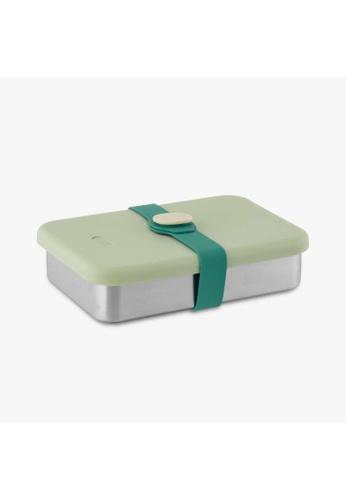 Viida [VIIDA] The Morgen Series Kasten Stainless Steel Lunch Box Bento Set with Leak-proof lid, Green - LFGB Germany, FDA & SGS Certified Safe 7FCE8HL9248A57GS_1