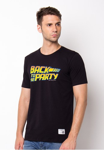 Endorse Tshirt Wl My Party Black END-PF038