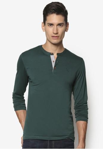 條紋亨esprit outlet 桃園利長袖衫, 服飾, 素色T恤