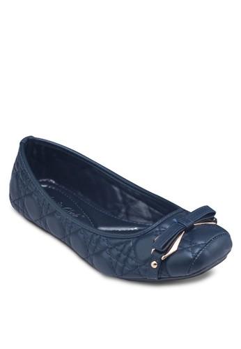 蝴蝶結zalora 心得軟襯平底鞋, 女鞋, 芭蕾平底鞋