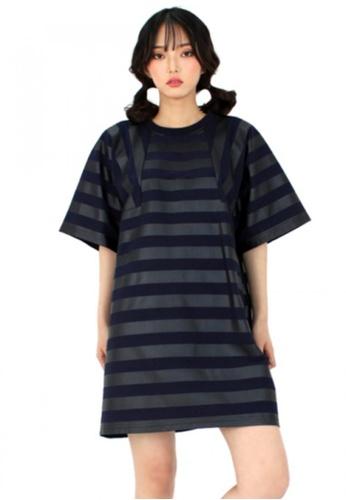 A X A multi Square Dress AX230AA99CCMSG_1
