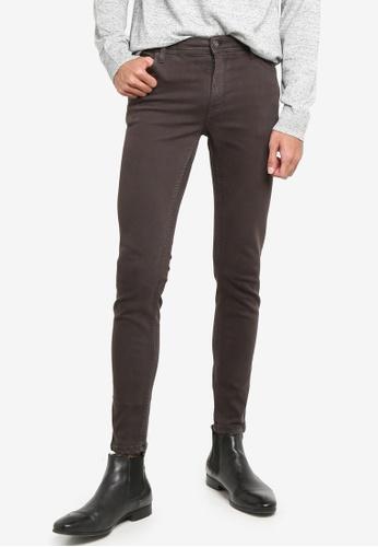MANGO Man grey Colour Skinny Jeans 11DA7AA6FD4ECEGS_1