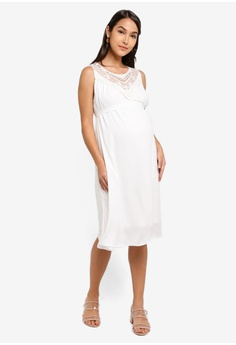 514bcee5db01a 10% OFF Mama.licious Maternity Ritta Woven Dress S$ 79.00 NOW S$ 70.90 Sizes  S M L XL