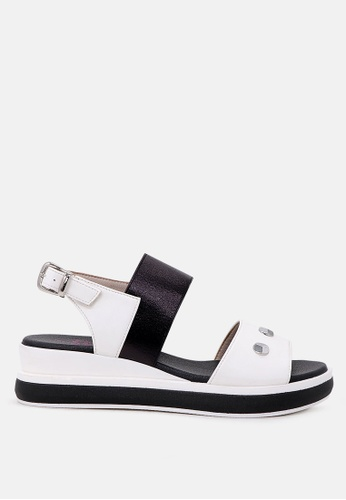 London Rag 白色 制作于London Rag防水台女式凉鞋 1DA9ASHAE803E3GS_1