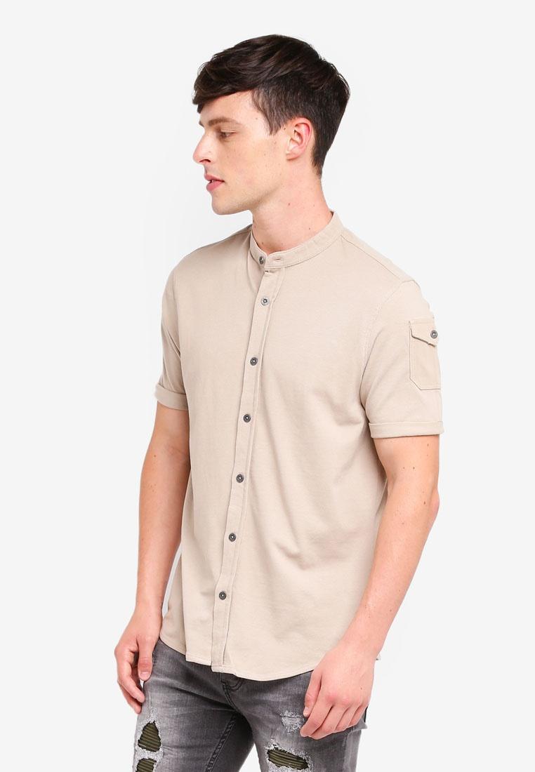 Sleeve Soul Mandarin Mushroom Shirt Short Collar Brave 4ZHSqZ