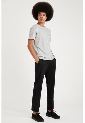 DeFacto black Slim Fit Homewear Bottoms A1F38AAA0DBAC1GS_1