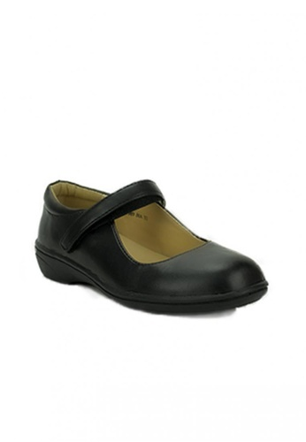 Mario D' boro Runway black SGT CS 8989 Black School Shoes D18CFKSACD4523GS_1