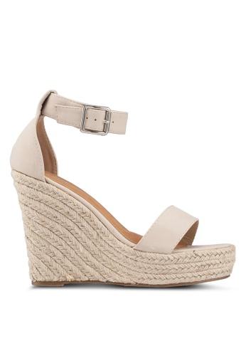 Rubi 褐色 Greer Espadrille 楔型鞋 01A56SH4DB2F91GS_1