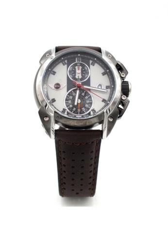 Mini white Chronograph Watch MI057AC03BJSHK_1