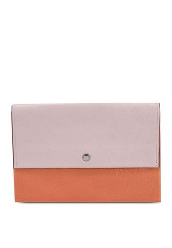 Coach pink Plain Envelope Pouch 4ACF9AC4B25D20GS_1
