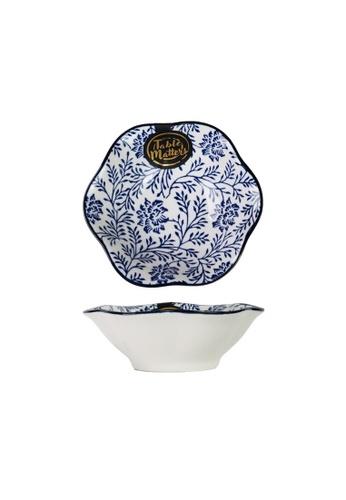 Table Matters multi Floral Blue - Lotus Leaf Saucer 6C337HL1101B25GS_1