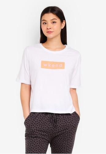 Cotton On Body white Boxy T-Shirt 5F838AA3A98C73GS_1
