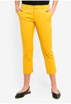 7d2c9c7e07e Dressing Paula yellow Basic Straight-Leg Pants 8DB5DAA1FA45A1GS 1
