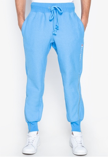 Champion white and blue Reverse Weave Shift Pants 97F11AAE97CECAGS_1