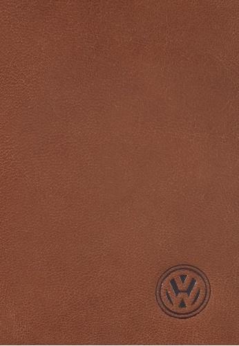 Volkswagen brown Volkswagen Genuine Leather Bi-Fold Long Wallet VO089AC0SMAVMY_1