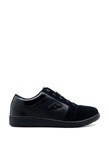 FANS black Fans Solaris B - Casual Premium Shoes Black 6016ESH8301A59GS_1