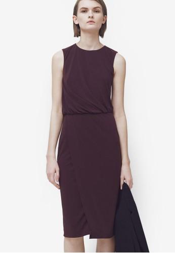 露背無袖連身裙, 服zalora 內衣飾, 洋裝