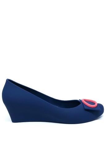 Twenty Eight Shoes 藍色 優雅果凍膠船踭鞋 510A 66406SH5E8C791GS_1