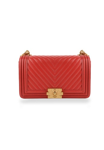 Esfolar red Esfolar Sling Bag -EA190030 4D105AC38EDCA4GS_1