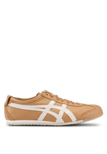 Onitsuka Tiger brown Mexico 66 Shoes 8E8F3SH41FF6A6GS_1