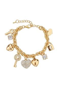 Key Friendship Charm Bracelet by ZUMQA