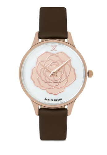 Daniel Klein brown Jam Tangan Wanita DK11812-2 Genuine Leather 5D316ACEA63444GS_1