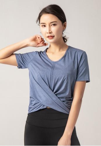 HAPPY FRIDAYS Women's Yoga Short Sleeve Tees DK-TX14 E5BFEAA6F8DA8EGS_1
