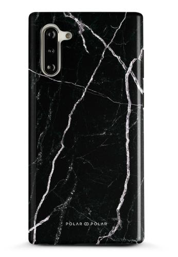 Polar Polar black Secret Dark Samsung Galaxy Note10 Dual-Layer Protective Phone Case (Glossy) 1B59BAC814234EGS_1