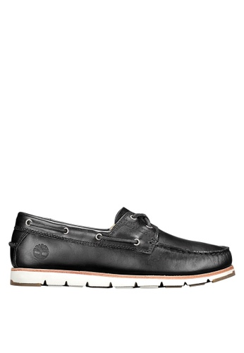 Timberland blue Camden Falls Full-Grain Boat Shoes 2CB8FSH1ABB896GS_1