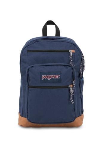 Jansport navy Jansport Unisex Cool Student Backpack Navy - 34L BCD21AC8977297GS_1