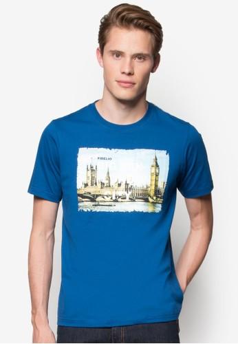 倫敦城市大笨鐘圖案T 恤, 服飾esprit 品牌, T恤