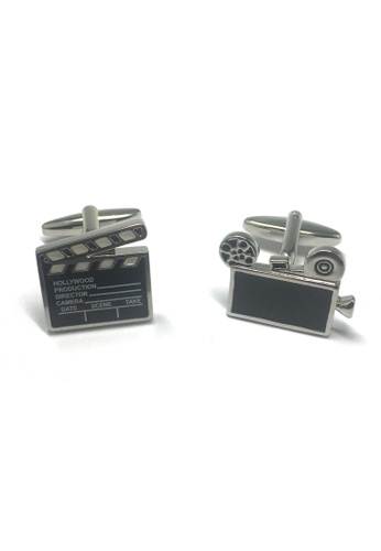 Splice Cufflinks HOLLYWOOD Lights Camera Action Cufflinks SP744AC19ABWSG_1