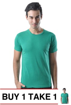 Newyork Army Round-neck Men's Plain Shirt with Shoulder Lining