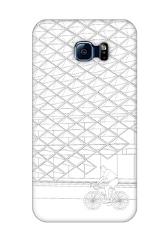 Brise Soleil Up Matte Hard Case for Samsung Galaxy S6 Edge