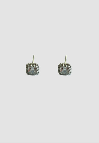 Miliyah Co silver Cz  Square Earring AD5BAACEA1C462GS_1