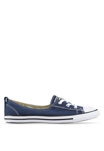 bee99ea7188fae Converse navy Chuck Taylor All Star Ballet Lace Core Slip Ons  82212SH95B5B3AGS 1