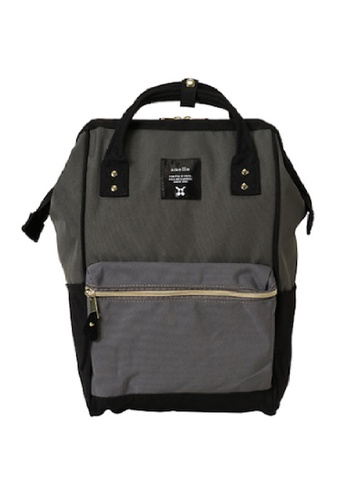 Anello black and grey and multi anello Polyester Backpack 475A9ACEE53C95GS_1