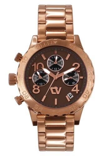 Christ Verra gold Casual Women's Watches CV C 71090L-15 BRN AAA61AC0D95BE1GS_1