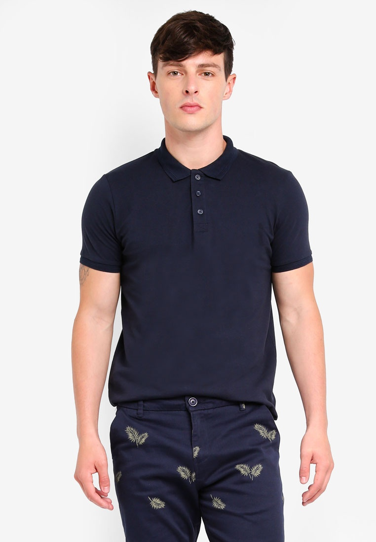 Sleeve Dark Shirt Polo Short Soul Brave Navy 7q8w6aU6n