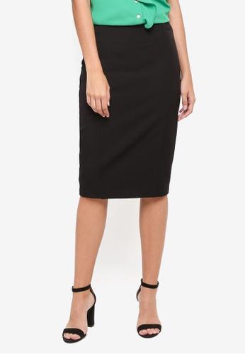 Dorothy Perkins black Black Workwear Pencil Skirt A6D8EAA5888674GS_1